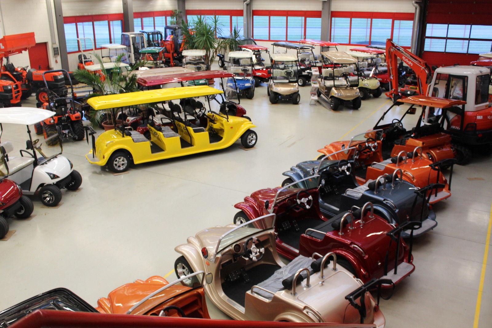 Golf Cart Center Germany Satteldorf Ausstellungsraum