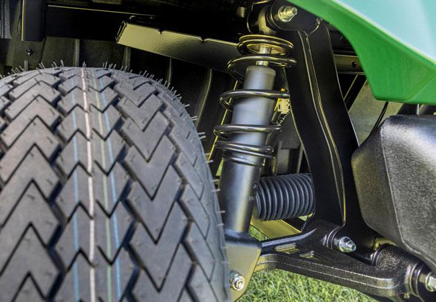 Yamaha Drive² AC AGM Aufhängung
