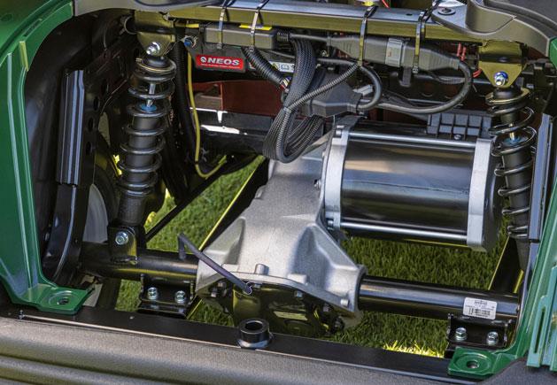Yamaha Drive² AC AGM Federung