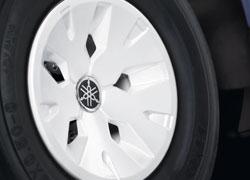 Yamaha Felgenabdeckung Glacier White
