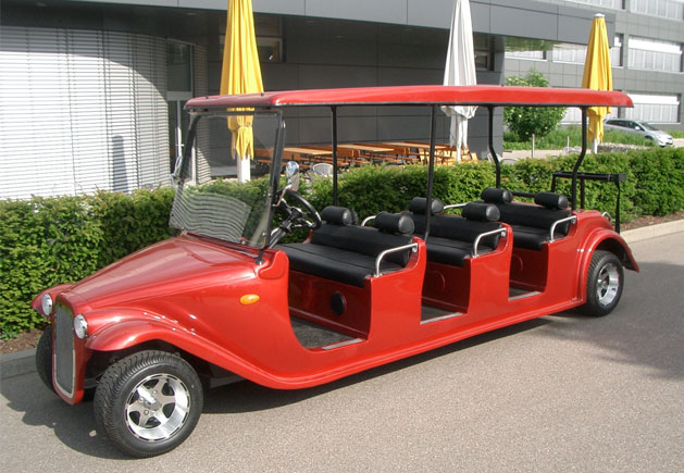 WSM Roadster 260 mit 6 Sitzplätzen